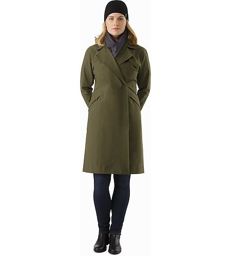 Nila Trench Coat Women's Banyen Front View