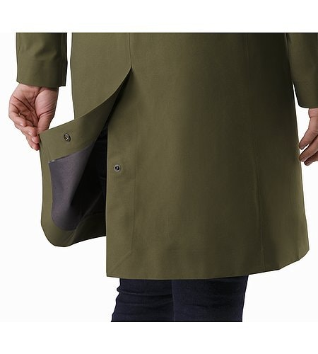 Nila Trench Coat Women's Banyen Rear Vent Adjuster