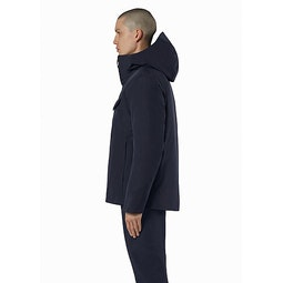 Node Down Jacket Deep Navy Side View