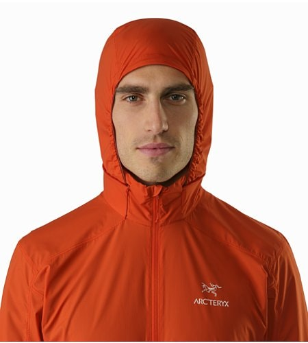 Nodin Jacket Arcturus Hood Front View