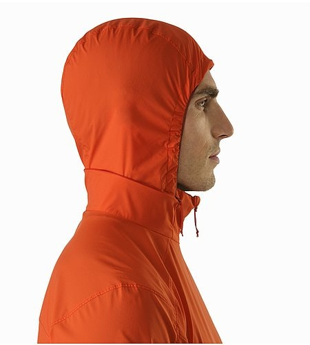 Nodin Jacket Arcturus Hood Side View