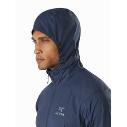 Nodin Jacket Exosphere Hood Side View