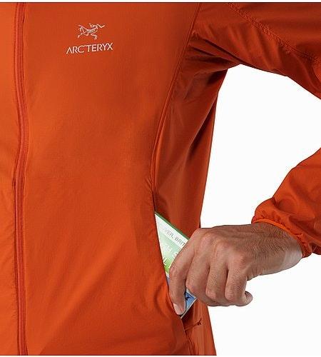 Nodin Jacket Rooibos Hand Pockets