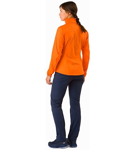 Nodin Jacket Women's Awestruck Back View