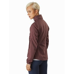 Nodin Jacket Women's Inertia Back View