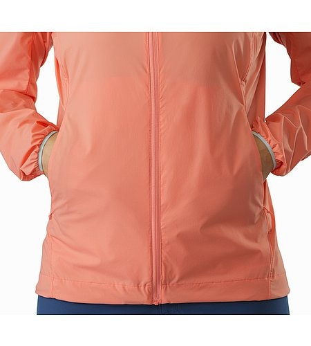 Nodin Jacket Women's Lamium Pink Hand Pocket