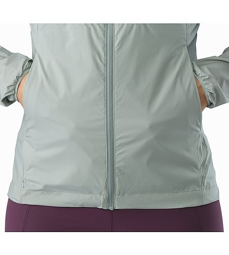 Nodin Jacket Women's Sage Hand Pocket