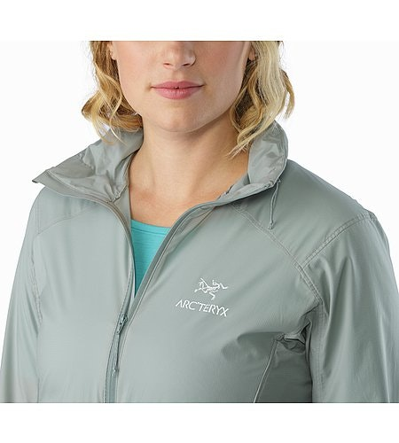 Nodin Jacket Women's Sage Open Collar