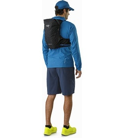 Norvan 14 Hydration Vest Black Back View