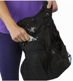 Norvan 7 Hydration Vest Black Mesh Dump Pocket