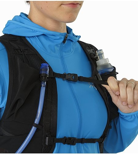 Norvan 7 Hydration Vest Black Brustgurt