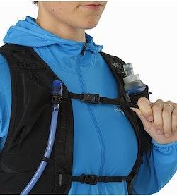Norvan 7 Hydration Vest Black Sternum Strap