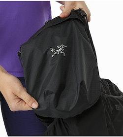 Norvan 7 Hydration Vest Black Stowable Weather Resistant Pouch
