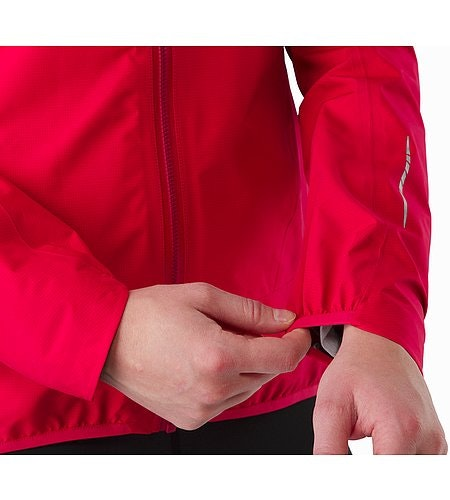 Norvan Jacket Women's Radicchio Stretch Cuffs