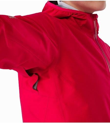 Norvan Jacket Women's Radicchio Vents