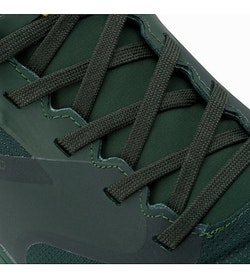 Norvan LD GTX Shoe Conifer Everglade Lace Detail