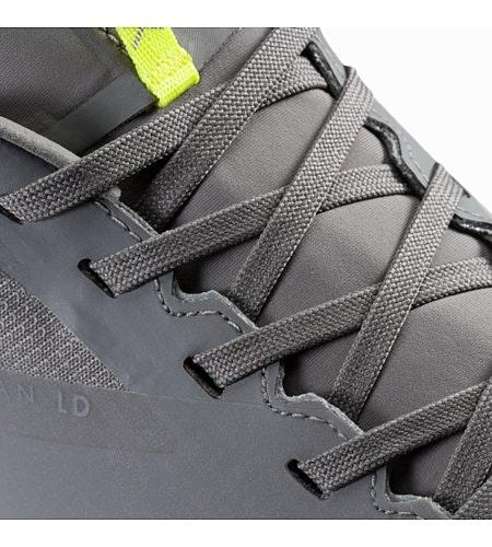 Norvan LD GTX Shoe Light Titan Venom Arc Lace Detail