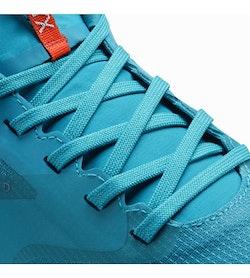Norvan LD GTX Shoe Women's Dark Firoza Aurora Lace Detail