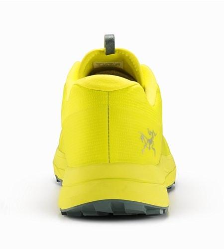 Norvan LD鞋子青黄色背面