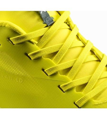 Chaussure Norvan LD Venom Arc Balsam Green Détail du lacet