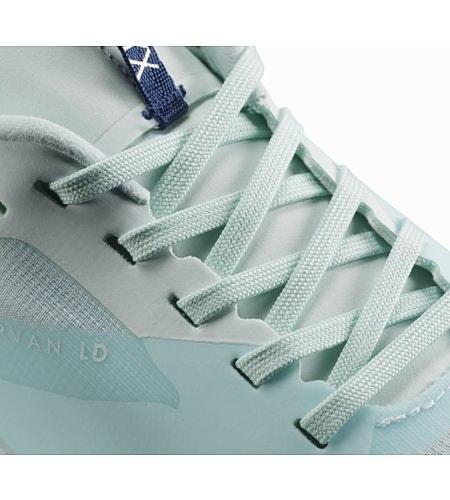 Norvan LD Shoe W Dew Drop Hecate Blue Lace Detail