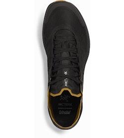 Norvan SL GTX Shoe Black Yukon Top View