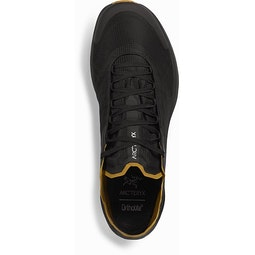 Norvan SL GTX Shoe Black Yukon Top View