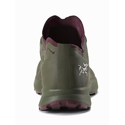 Norvan SL GTX Shoe Women's Okra Stanza Back View