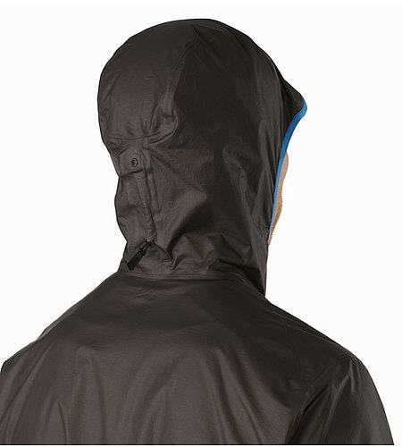 Norvan SL Hoody Black Rigel Hood Back View 2