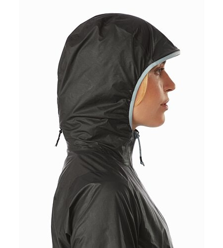 Norvan SL Hoody Women's Black Robotica Hood Up