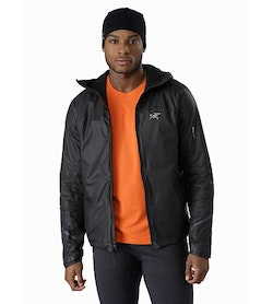 Norvan SL Insulated Hoody Black Infrared Open View