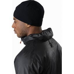 Norvan SL Insulated Hoody Black Infrared Stowed Hood