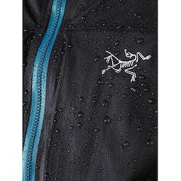Norvan SL Insulated Hoody Women's Black Dark Firoza Fabric