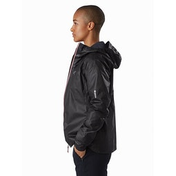 Norvan SL Insulated Hoody Women's Black Momentum Side View v1