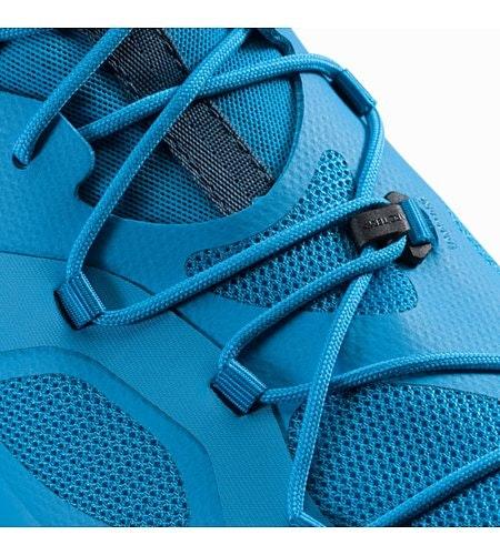 ノーバン VT GTX シューズ ウィメンズ バハ ポセイドン 靴紐ディテール