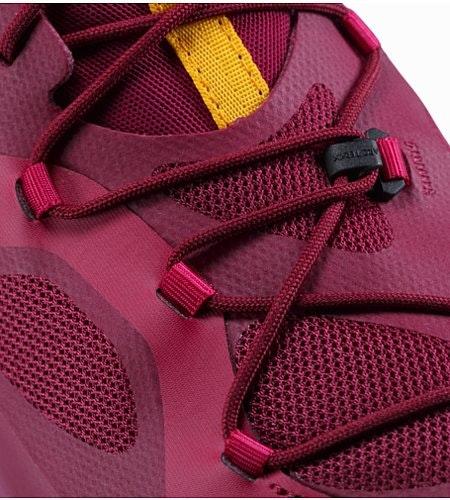 Norvan VT GTX Shoe Women's Liberty Arcturus Lace Detail