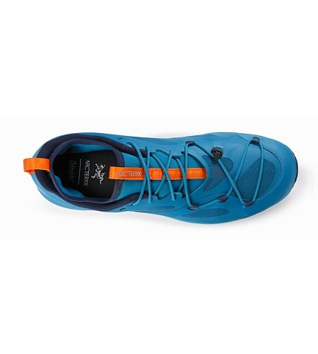 Norvan VT Shoe Deep Lagoon Beacon Top View