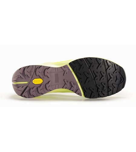 Norvan VT Shoe Women's Lumen Lime Lavender Sole