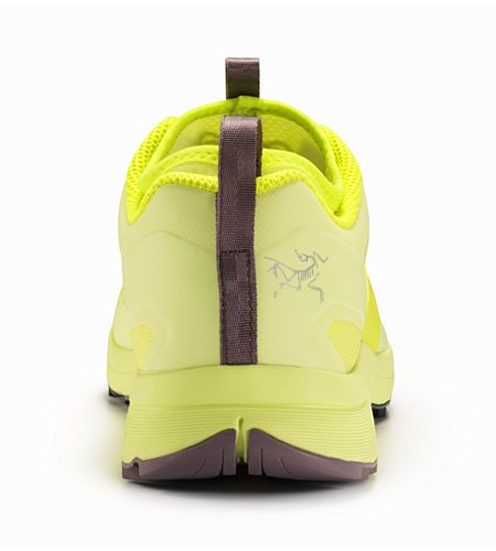 Norvan VT Shoe Women's Lumen Lime Lavender Stone Back View