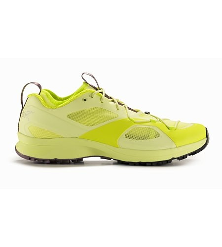 Norvan VT Shoe Women's Lumen Lime Lavender Stone Side View