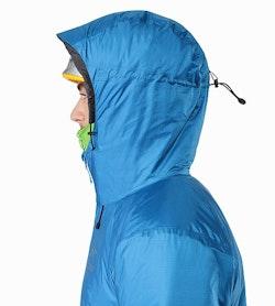 Nuclei AR Jacket Macaw Helmet Compatible Hood Side View