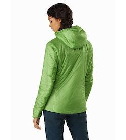 Nuclei FL Jacket Women's Ultralush Back View