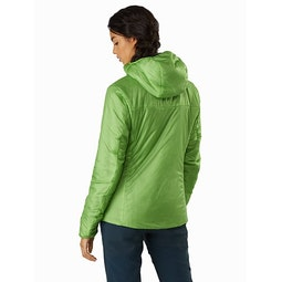Nuclei FL Jacket Women's Ultralush Back View