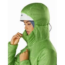 Nuclei FL Jacket Women's Ultralush Helmet Compatible Hood