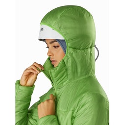 Nuclei FL Jacket Women's Ultralush Helmet Compatible Hood