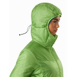 Nuclei FL Jacket Women's Ultralush Hood Up