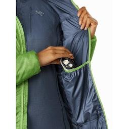 Nuclei FL Jacket Women's Ultralush Internal Dump Pocket
