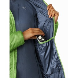 Nuclei FL Jacket Women's Ultralush Internal Dump Pocket