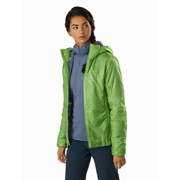 Nuclei FL Jacket Women's Ultralush Open View