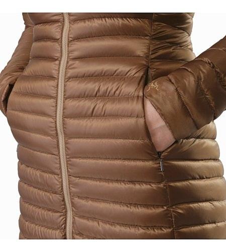 Nuri Coat Women's Topi Hand Pocket